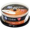 HEWLETT PACKARD CD-RW 700MB/4X-12X/1/25CAKE/69313