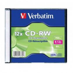 VERBATIM CD-RW 700MB 8-12X 43148 43147