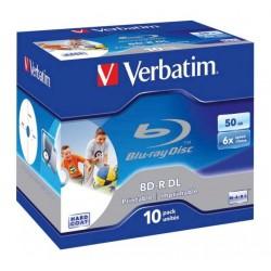 VERBATIM BLU-RAY 50GB 6X WIDE PRINTABLE JC/43736/43735