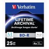 VERBATIM BLU-RAY M-DISK 25GB 4X/ 3PACK/SLIM CASE/ 43827