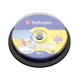 VERBATIM DVD+RW 8CM 1.46GB 43641 PRINTABLE