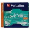 VERBATIM DVD-RW 8CM 1.46GB 43514/43513