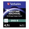 VERBATIM DVD-R M-DISK 4.7GB/4X 3PACK 43826 SLIM CASE