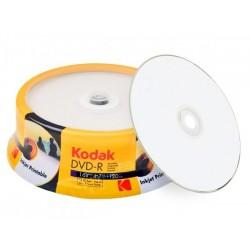 KODAK DVD-R FULL SURFACE PRINTABLE 4.7GB 16X K1430325