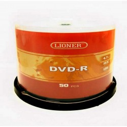 LIONER DVD-R 4.7GB 16X CAKE 50/600