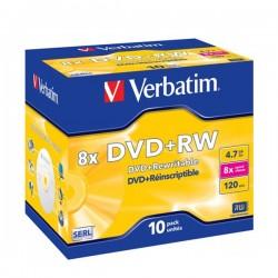 VERBATIM DVD+RW 4.7GB 8X 43527/43526