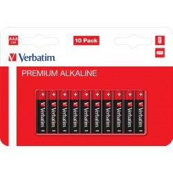 VERBATIM ALKALNE BATERIJE AAA-LR3 (LR03) VERB.49874 /BLISTER 10 KOMADA