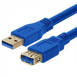 MEDIARANGE GERMANY KABLOVI USB 3.0 EXTENSION CABLE AM/AF 1.8M BLUE