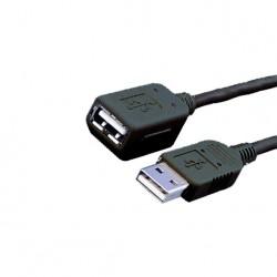 MEDIARANGE GERMANY KABLOVI USB 2.0 EXTENSION 1.8M/BLACK/MRCS154
