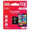 GOODRAM MEMORIJSKE KARTICE 128GB MICRO SDHC CLASS 10 UHS SA ADAPTEROM