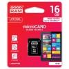 GOODRAM MEMORIJSKE KARTICE 16GB MICRO SDHC CLASS 10 UHS I SA ADAPTEROM
