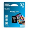 GOODRAM MEMORIJSKE KARTICE 32GB MICRO SD CLASS4+ADAPTER M40A-0320R11