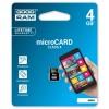 GOODRAM MEMORIJSKE KARTICE 4GB MICRO SDHC CLASS 4