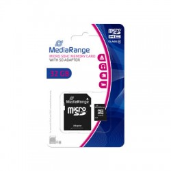 MEDIARANGE GERMANY MEMORIJSKE KARTICE MICRO SDHC/32GB CLASS 10/+SD ADAPTER/MR959