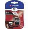 VERBATIM MEMORIJSKE KARTICE MICRO SDHC 8GB CLASS 10 SA ADAPTEROM 44081