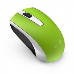 GENIUS MISEVI ECO-8100 WIRELESS MOUSE RECHARGEABLE GREEN