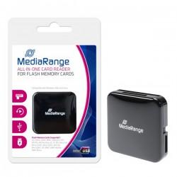 MEDIARANGE GERMANY GADGETS USB 2.0 ALL IN ONE CARD READER STICK BLACK