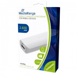 MEDIARANGE GERMANY POWER BANK 2.600MAH MOBILE CHARGER MR745