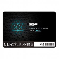 SILICON POWER TW SSD 512GB SSD A55 SATA3 WP SP512GBSS3A55S25