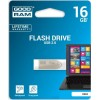 GOODRAM USB FLASH MEMORIJE 16GB DRIVE 2.0 UEA2 SILVER