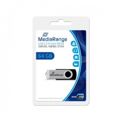 MEDIARANGE GERMANY USB FLASH MEMORIJE 64GB/2.0/MEDIARANGE/MR912