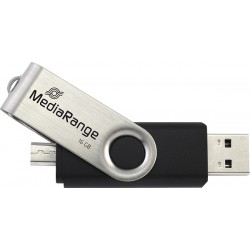 MEDIARANGE GERMANY USB FLASH MEMORIJE 16GB/2.0/OTG MICRO USB+USB DUAL DRIVE MR931