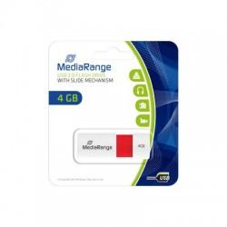 MEDIARANGE GERMANY USB FLASH MEMORIJE 4GB/2.0/COLOR EDITION RED MR970