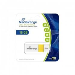 MEDIARANGE GERMANY USB FLASH MEMORIJE 16GB/2.0/COLOR EDITION YELLOW MR972